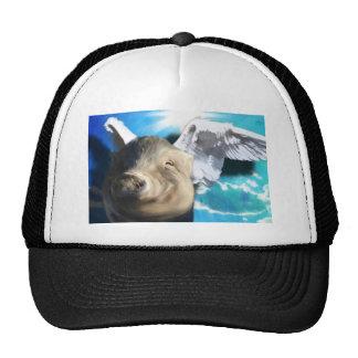Angel Pig Trucker Hat