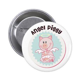 Angel_Piggy Pinback Button