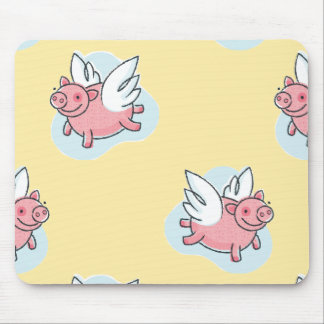 Angel Pigs for Chinese New Year 2019 Mousepad