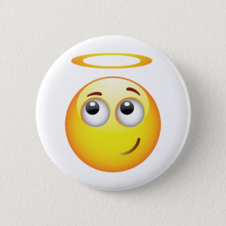 Angel Pinback Button