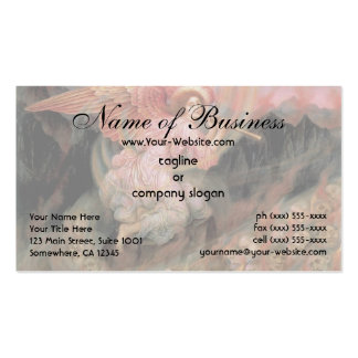 Angel Piping to Souls in Hell by Evelyn De Morgan Business Card