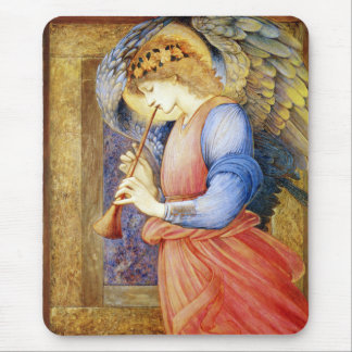Angel Playing a Flageolet Burne-Jones Mousepad