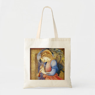 Angel Playing a Flageolet Burne-Jones Tote Bag