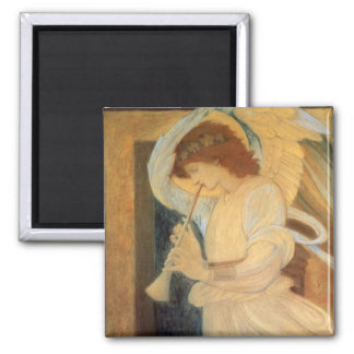 Angel Playing Flageolet By Burne Jones Magnet
