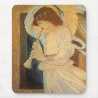 Angel Playing Flageolet By Burne Jones Mouse Pad