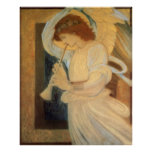 Angel Playing Flageolet By Burne Jones Poster