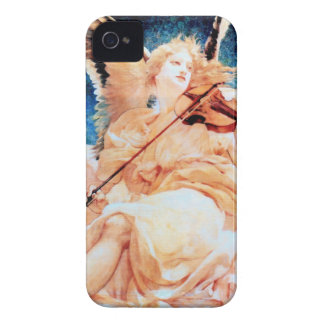 Angel Playing Violin painting iPhone 4 Cover
