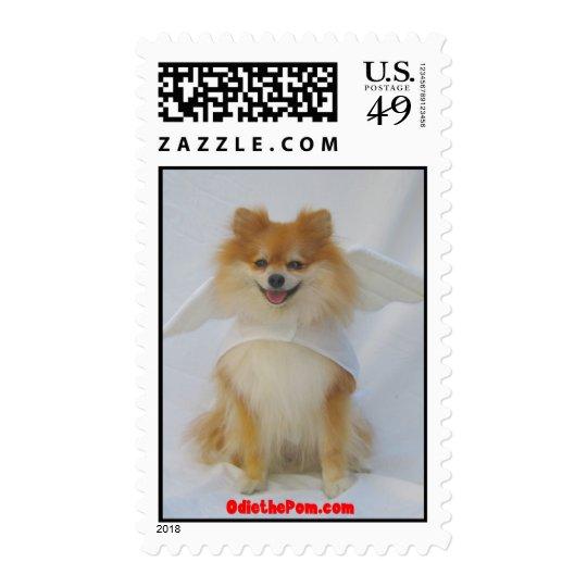 Angel Pomeranian Postage