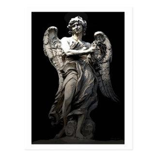 Angel Ponte Sant Angelo Postcard