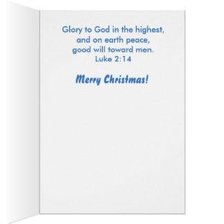 Ángel por la tarjeta de Navidad de Isla
