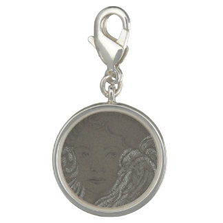 Angel Portrait Charm