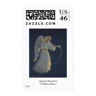 Angel of Abundance stamp