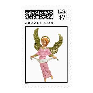 Angel Postage Stamp