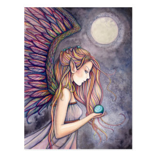 Angel Postcard by Molly Harrison