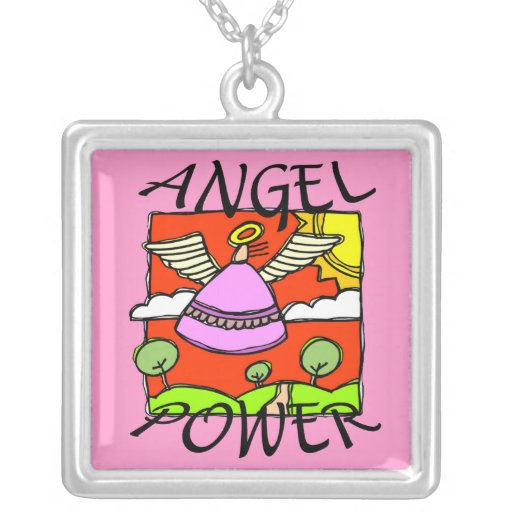 ANGEL POWER  NECKLACE
