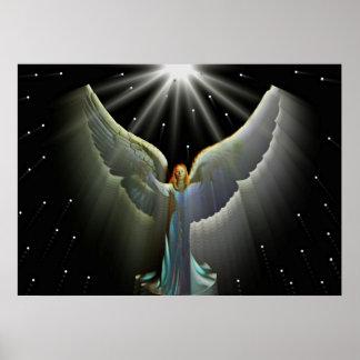Angel Power Poster