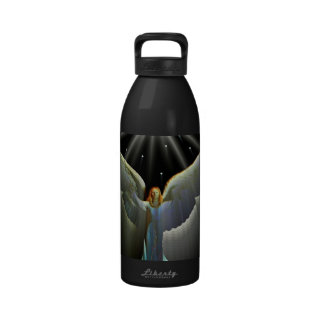 Angel Power Reusable Water Bottles