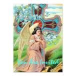 Angel Prayer 13 Cm X 18 Cm Invitation Card