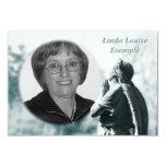 "angel prayer memorial card 3.5"" x 5"" invitation card"