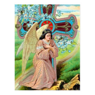 Angel Prayer Post Card