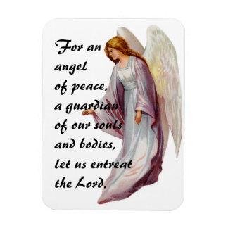 Angel Prayer Rectangular Magnet