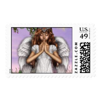 Angel Prayers Postage Stamps