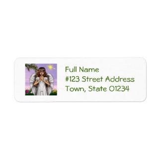 Angel Prayers Return Address Label