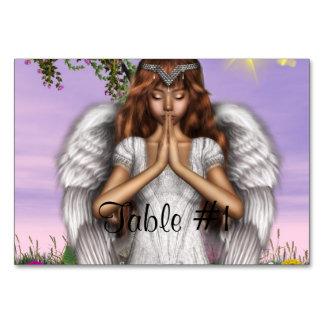 Angel Prayers Table Cards