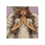 Angel Prayers Wood Wall Decor