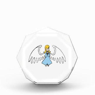 ANGEL PRAYING ACRYLIC AWARD