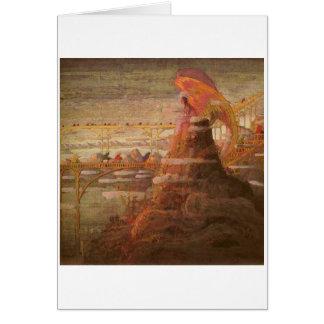 Angel. Prelude by M.K. Ciurlionis, 1908-09 Card