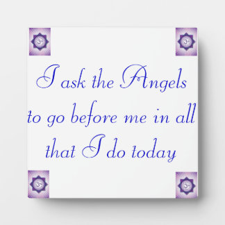 Angel Protection Crown Chakra Plaque by AligN