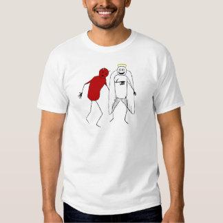 Angel Punching Devil Tee Shirt