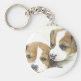 Angel Puppies Key Chains