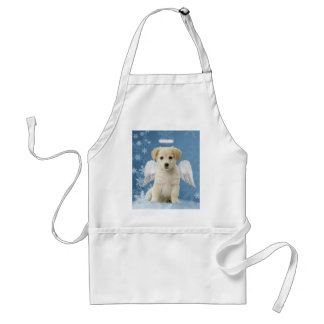 Angel Puppy Christmas Apron