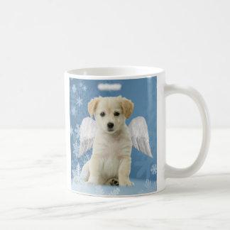Angel Puppy Christmas Mug