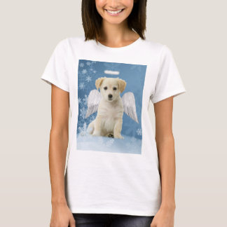 Angel Puppy Christmas T-Shirt
