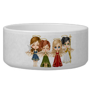 Angel Quaretet Pet Bowl