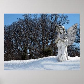 Ángel que consuela • Sol Póster
