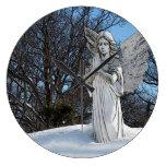 Ángel que consuela • Sol Reloj De Pared