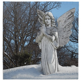 Ángel que consuela • Sol Servilleta De Papel