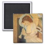 Ángel que juega la chirimia Burne Jones, música Imán Cuadrado