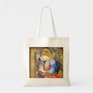 Ángel que juega una bolsa de asas de Burne-Jones d