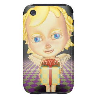 Ángel que lleva a cabo un presente, CG, 3D, iPhone 3 Tough Carcasa