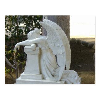 Ángel que llora postal