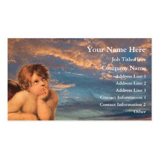 Ángel que soña la tarjeta de visita