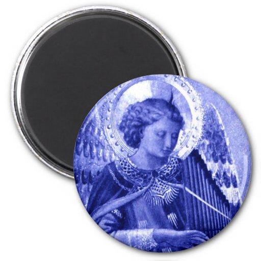Ángel que toca el instrumento iman