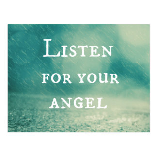 Angel Quote Postcard