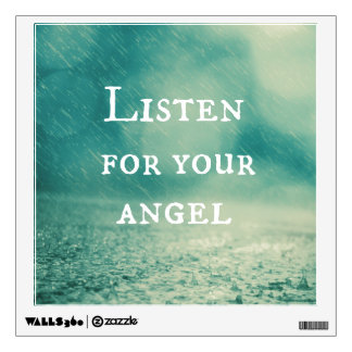 Angel Quote Wall Sticker