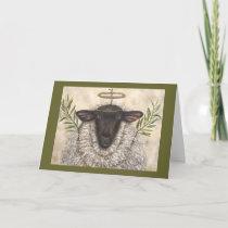 Angel Regina holiday card